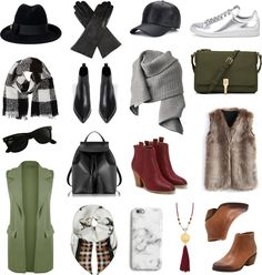 Fall / Winter Accessories. A collection of my favorite accessory staples in my fall / winter wardrobe (boots, gloves, hats, scarves, etc) that keep me comfy & cozy until spring!