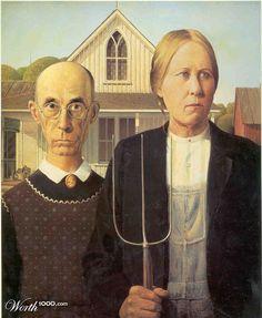 """American Gothic"" - Feminist view"