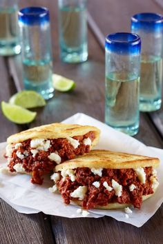Beef Chorizo and Panela Arepas with Cacique Beef Chorizo and Panela Cheese