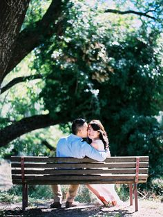 Summer lovin, always having a blast. Cute, cute engagement session.   Photography: Stewart Leishman Photography - stewartleishman.com  Read More: http://www.stylemepretty.com/australia-weddings/2014/07/14/sunny-and-happy-kyneton-engagement/