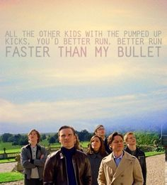 pumped up kicks. One of my favorite songs. Didn't know it was based off of the Columbine shooting though.