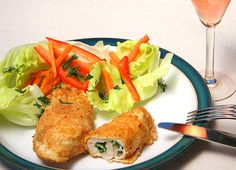Chicken Kiev originally came from French Kitchens where 19th Century Russian Nobility sent their chefs to train.  The Russians substituted Chicken for Veal & called it MIKHAILORSKA CUTLET.  Chicken was a delicacy at the time. - Viking Cruises