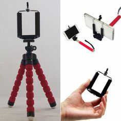 Universal Mini Tripod Stand Cell Phone Mount For iPhone Phone Digital Camera Hot #Unbranded
