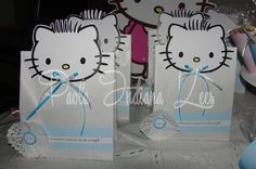 #Bolsitas de #papel blanca para #golosinas #personalizadas con #dear Daniel