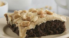 Blogger Deborah Harroun of Taste and Tell makes a no-fuss chocolate cake that is perfect for a crowd.