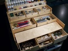 Warhammer Work-station - Plans Posted