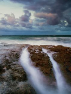 On the rocks in Cronulla NSW ,   Australia.