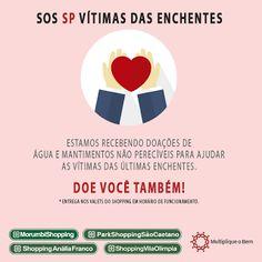 Chic e Fashion: Campanha SOS Vítimas das Enchentes