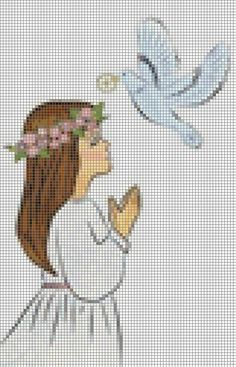 Cross Stitch Bookmarks, Cross Stitch Baby, Cross Stitch Embroidery, Cross Stitch Designs, Cross Stitch Patterns, Religious Cross, Filet Crochet, Sewing Crafts, Quilts