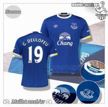 Maillots-Sport: Promo Nouveau Maillot Football Everton G.Deulofeu 19 Domicile 2016 2017