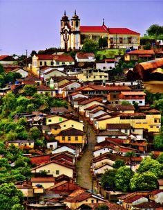 """Ouro Preto, Minas Gerais, Brazil • """"Ouro Preto"""" by Marcelo Vieira on http://500px.com/photo/4299604"""