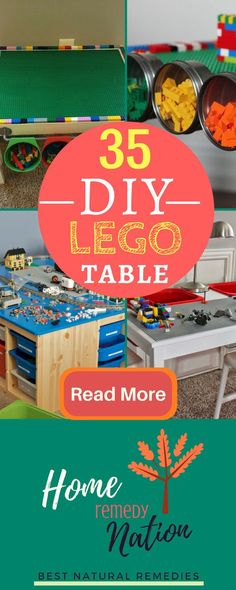 35 GENIUS Do-it-yourself Lego Table Storage Ideas You will simply Love | Home Remedy Nation #DIY #Lego #Storage #Hacks #LifeHacks #HomeDecor #Table