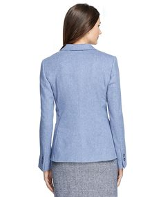 Stellita Fit Two-Button Wool JacketBlue