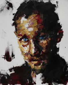stranger 91.0*72.8cm oil on canvas 2013
