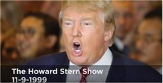'She Is Actually Naked' -- The Sex-Filled Howard Stern Interview Trump And Melania Wish They Had Never Done (AUDIO)