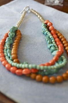 DIY Statement Necklace Tutorial
