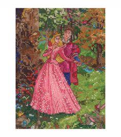 Mcg Textiles Disney Dreams Counted Cross Stitch Kit Sleeping Beauty