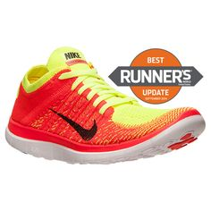 WMNS Shoes, Fashion Nike Shoes for Womens Online Wholesale Over off 2015 | WMNS Nike Free Flyknit Running Shoes Volt/Black Bright Crimson 631050 700 [Pin ...