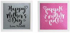 Vinyl Sticker DIY Box Frame  HAPPY MOTHER'S DAY -  Add Names (send message) #Unbranded #Contemporary