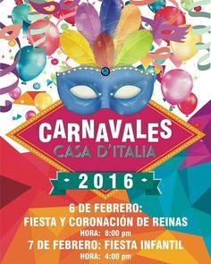 ATENCIÓN #CiudadBolivar @Regrann from @casaditaliacbl -  Nuestra Fiesta de Coronación Entrada Gratis Socios y amigos #Regrann