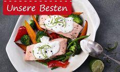 Die Abendessen-Rezepte von Dr. Oetker warten nur darauf, von Ihnen entdeckt zu werden. Gebratenes Gemüse mit Zitronen-Lachs ist nur eines von vielen Abendessen-Rezepten.