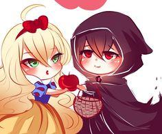 Master Mavis and evil-WHYWASTHEREAFREAKENCLIFFHANGERWITH YOU?!!!!-Zeref. Excuse me Otaku Fellows.