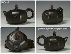 """Чайник """"Чжоу Гуочжун"""" ручная работа, клеймо мастера, сертификат аутентичности.  Материал: Исинская фиолетовая глина. Объём: 180 мл  Цена: 580 грн. ~ возможен под заказ на 21 декабря"""