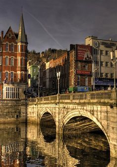 St.Patrick's Bridge, Cork, Ireland Iwould like to visit this place because if my research is right, than this is the place where my last name originated from!