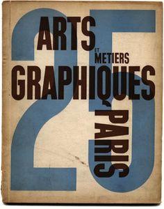 ARTS ET METIERS GRAPHIQUES 25 September 1931 Charles Peignot [Directeur]