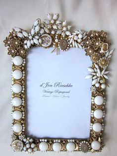 Milk glass and rhinestone vintage jewelry!