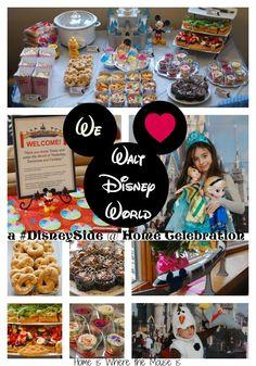 We Love Walt Disney World! | A #DisneySide @ Home Celebration | Home is Where the Mouse is #sponsored
