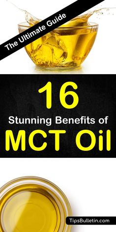 16 Benefits of MCT Oil - including improved metabolism weight loss cognition heart health hair and nail health skin and brain health. The article covers the difference of MCT oil vs. coconut oil ketogenic diet and the different types of MCT oils. Mct Oil Benefits, Lemon Benefits, Matcha Benefits, Coconut Health Benefits, Desserts Keto, Endocannabinoid System, Heart Health, Healthy Recipes, Eating Clean