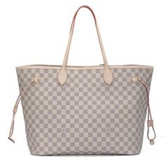 Louis Vuitton Neverfull GM N51108 Tote Bag Damier Azur Canvas Off White Louis  Vuitton Damier 46cb6553d3b91