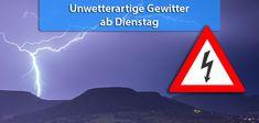 +++ Ab Dienstag teils unwetterartige Gewitter +++  Nach den Pfingstfeiertagen steigt das Unwetterrisiko rasch an. Ab Dienstag gibt es nahezu keinen Tag mehr, an dem es nicht irgendwo in Deutschland ein Unwetter gibt.  #Unwetter #Gewitter #Hagel #Platzregen #Schauer #Böen #Wetter
