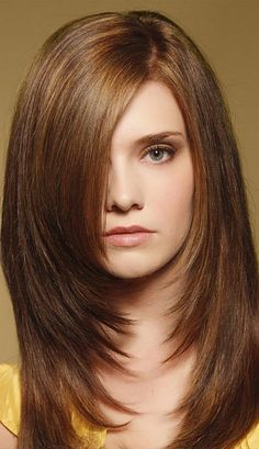 Medium Length Layered Hairstyles will never become old, perfectly shaped and finished haircut for medium hair bursting on to the shoulder is attractive as ever. Layered haircut for medium hair is easy to carry hairstyles that suit on every type of hair, w