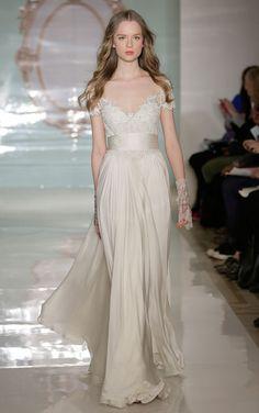 Reem Acra spring 2015 bridal collection