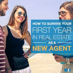 Starting out in real estate can be challenging. Find out how to survive your first year as a real estate agent with these helpful tips! Has some good book recommendations for realtors also.