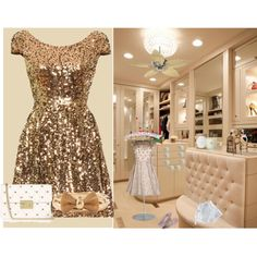 """""""Gold"""" by sawilson98 on Polyvore"""