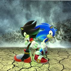 Sonic the Hedgehog and Shadow the Hedgehog