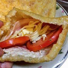 油揚げの中にベーコンとチーズを入れるだけで超絶美味い料理ができるらしい : くまニュース