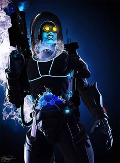 thegeekcritique:    Mr. Freeze by Daniel Scott Gabriel Murray  Shawn writes:  This pic is perfect in every way.