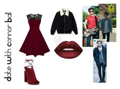 """Date With Connor Ball"" by marianaraposo on Polyvore featuring Kenneth Cole and Lacoste"