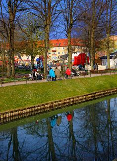 I Folkets Park, Malmo, Sweden