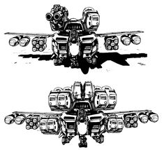 robotech Frankenstein mech 4 by unspacy on @DeviantArt