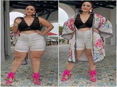 Moda Para Gorditas Volumen1  | Gorditamiestilo Pants, Dresses, Style, Fashion, Trends, Trouser Pants, Vestidos, Swag, Moda