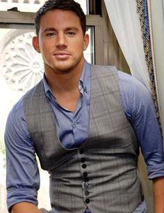 Channing Tatum- man can this boy dance!! Hottie for sure. Loved him in Magic Mike!