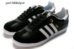 Basketball Adidas Originals Samba men's shoes black/white HOT SALE! HOT PRICE!
