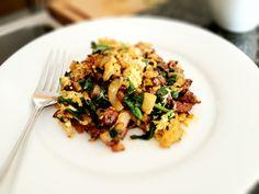 Chorizo Scramble - eatingforidiots.com