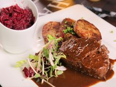 Get this all-star, easy-to-follow Sauerbraten recipe from Diners, Drive-Ins and Dives