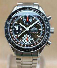 Omega Speedmaster Triple Calendar Racing Michael Schumacher KBL494 SPM